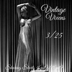 THURSDAY 3/25 Vintage Vixens Sign Up Sheet